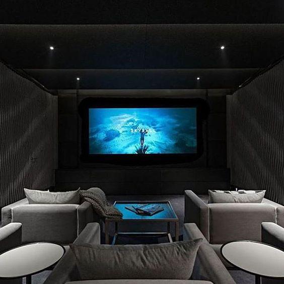Arquitectura xiorela quintero el placer de dise ar una sala de cine en casa - Sala de cine en casa ...